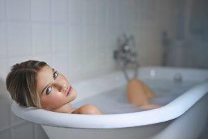 woman in bathtub - Lyfe Medical Wellness