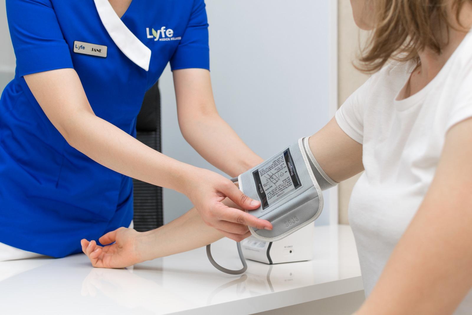 checkup at lyfe medical wellness
