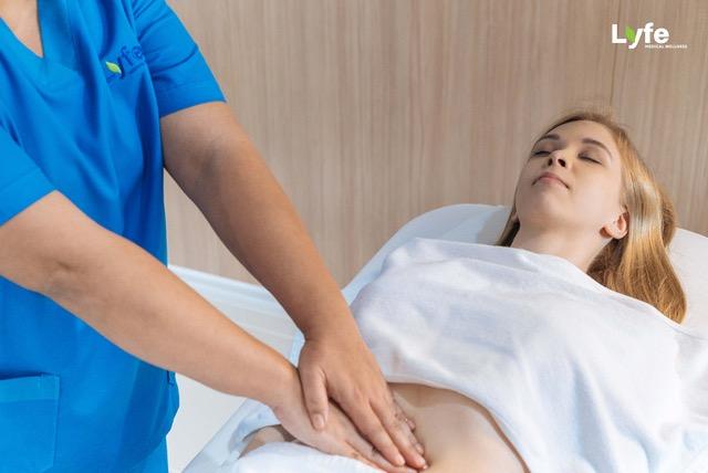 abdominal massage by lyfe medical wellness