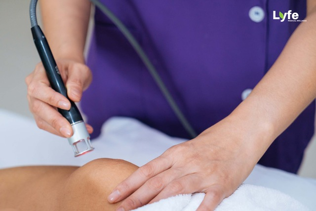 Physiotherapy - Laser Treatment by lyfe medical wellness