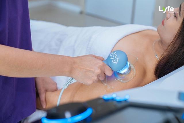 physiotherapy ultrasound by lyfe medical wellness